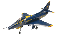 Blue Angels Stunt Plane