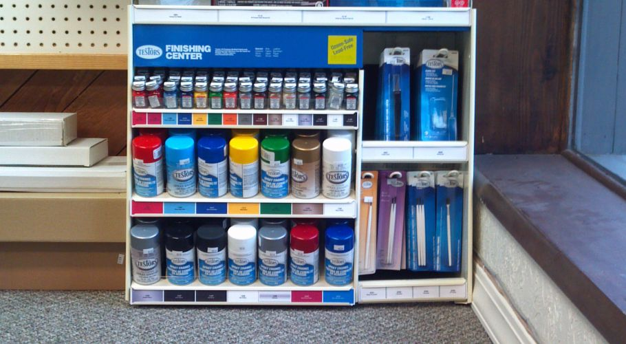 Paint and Paint Accessories from Testors